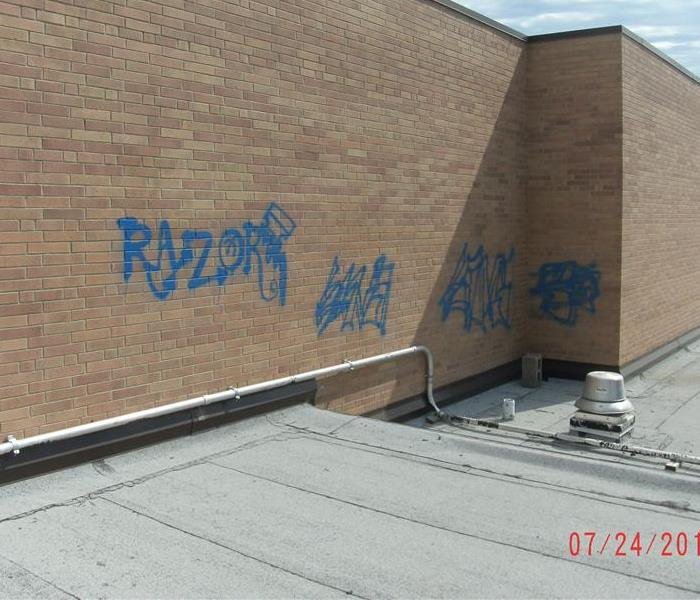 Graffiti Removal in Waverly, NE Before