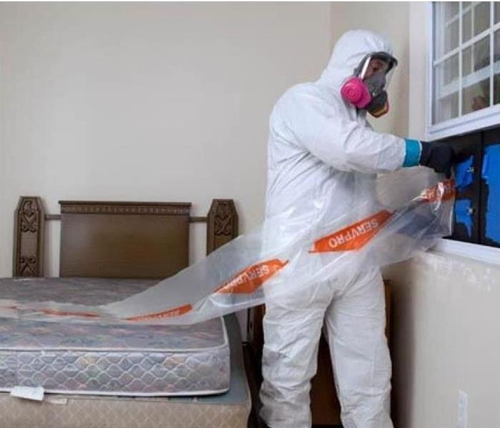 Biohazard Rely on SERVPRO for Safe Biohazard Cleanup