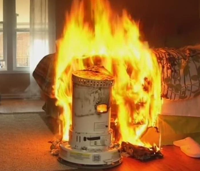 Fire Damage Using A Space Heater?  Read These Safety Tips!